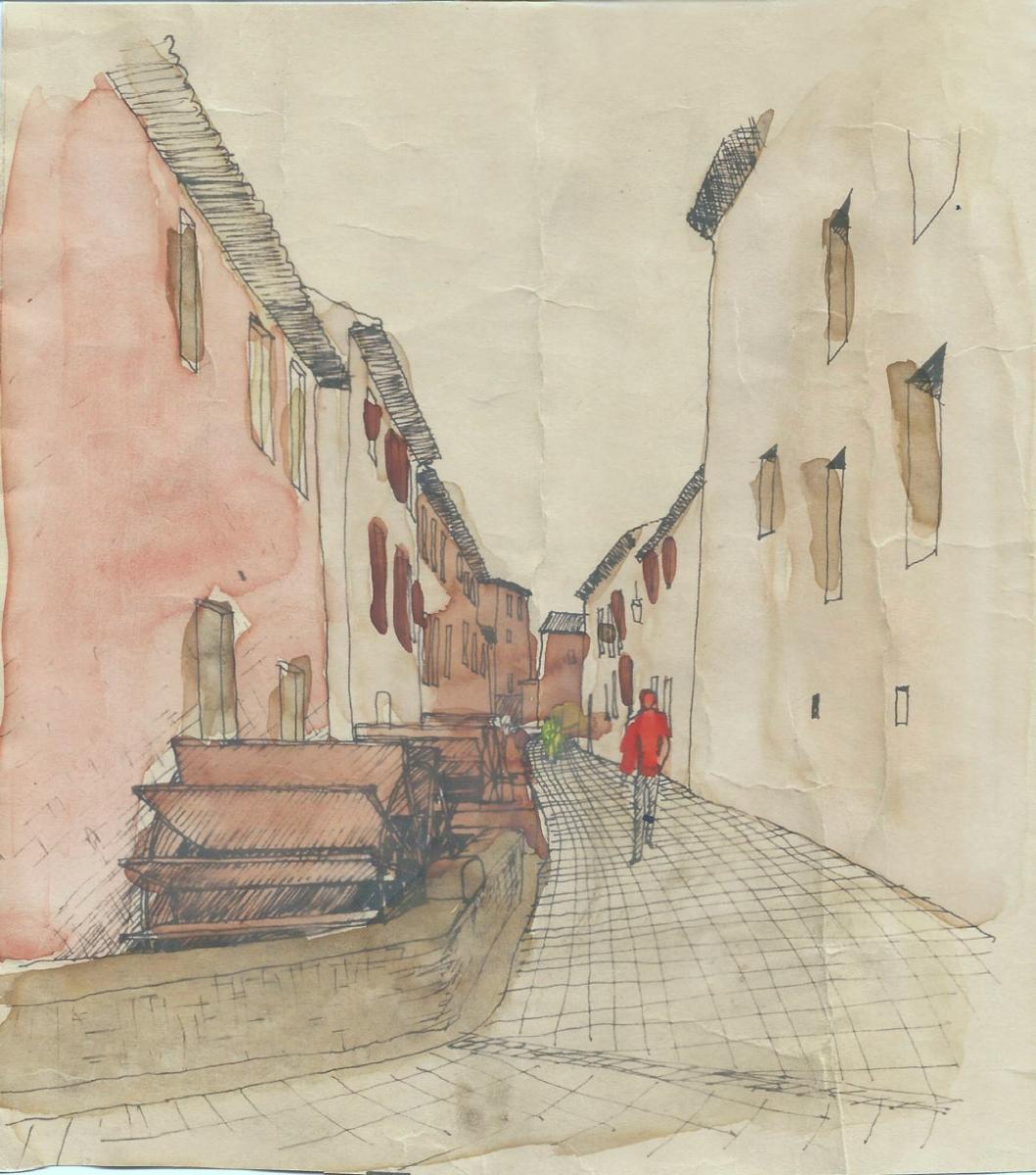 rue Theophile Jean (ou rue des roues)